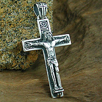 Wholesale Silver Cross Pendant
